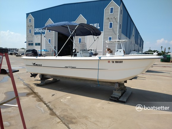Rent a Mako Marine skiff in Seabrook, TX near me