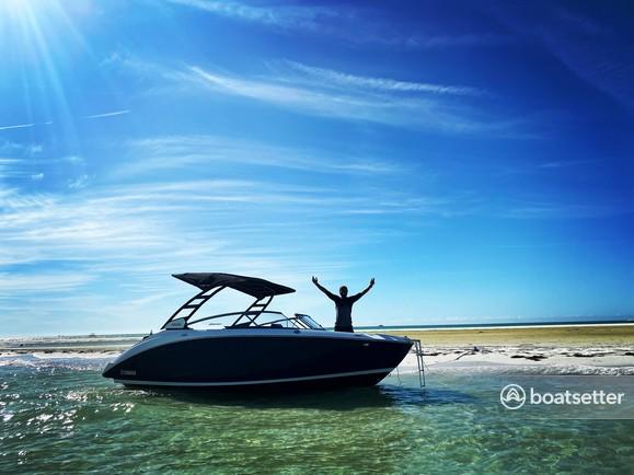 Rent a Yamaha jet boat in Bradenton, FL near me