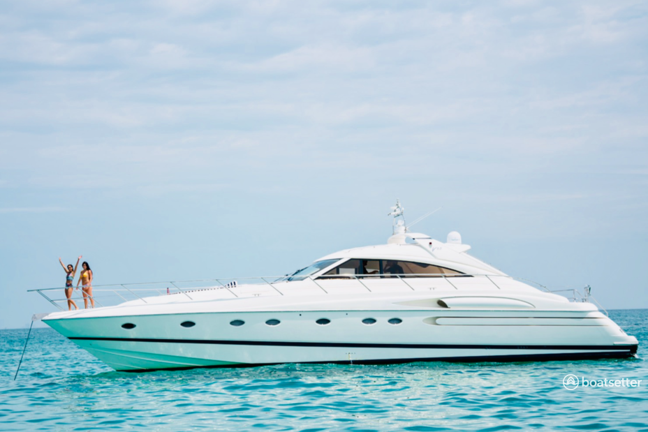 Rent a Princess motor yacht in Miami Beach, FL near me