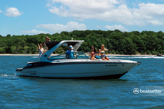 Rent a Monterey Boats ski and wakeboard in Sag Harbor, NY near me