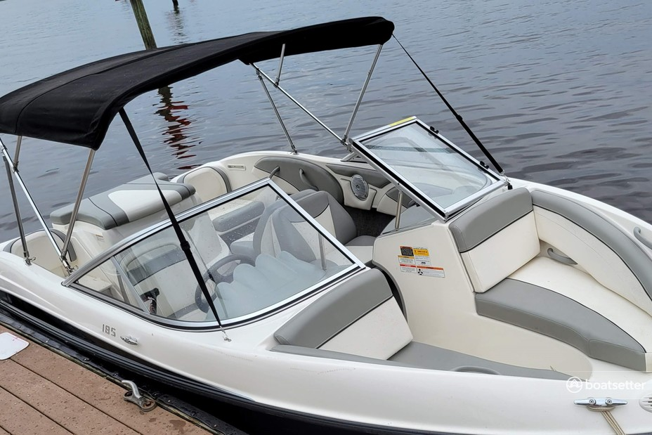 Rent a Bayliner bow rider in Jacksonville, FL near me