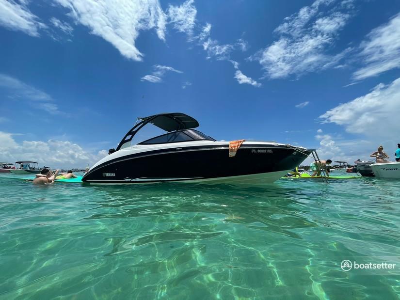 Rent a YAMAHA jet boat in Hallandale Beach, FL near me
