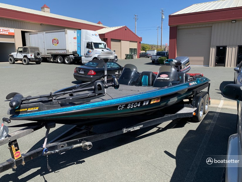 Rent a Stratos Boats bass boat in Kelseyville, CA near me