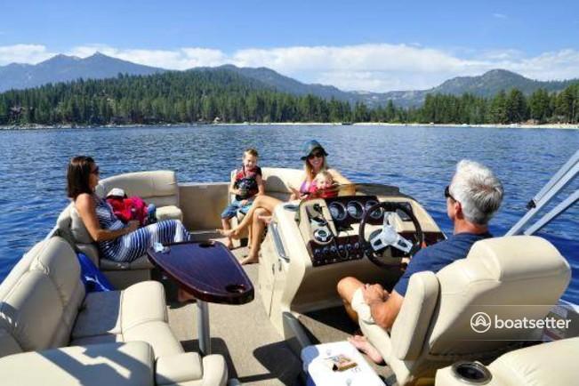 Rent a Bennington Marine pontoon in Tahoe City, CA near me