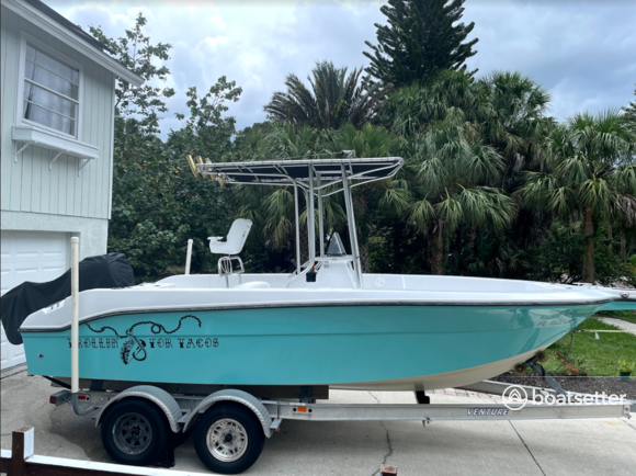 Rent a Angler Boats center console in Tarpon Springs, FL near me