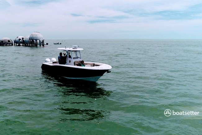 Rent a Tidewater Boats center console in Lehigh Acres, FL near me