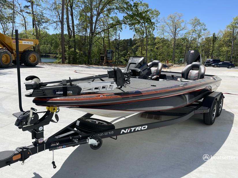 Rent a NITRO BY TRACKER MARINE bass boat in Buford, GA near me