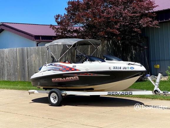 Rent a Sea-Doo jet boat in Morton, IL near me