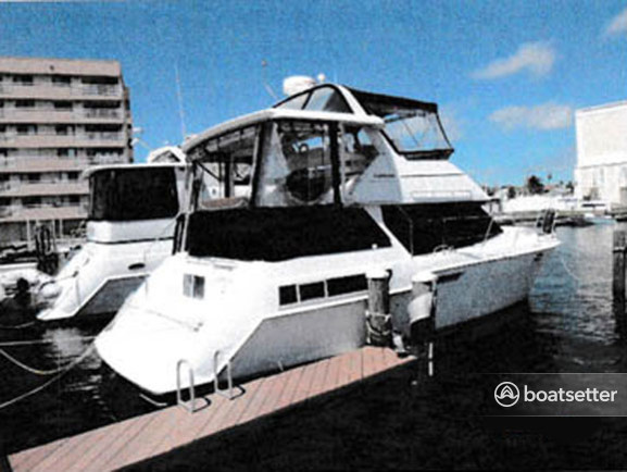 Rent a Carver Yachts cruiser in Osprey, FL near me