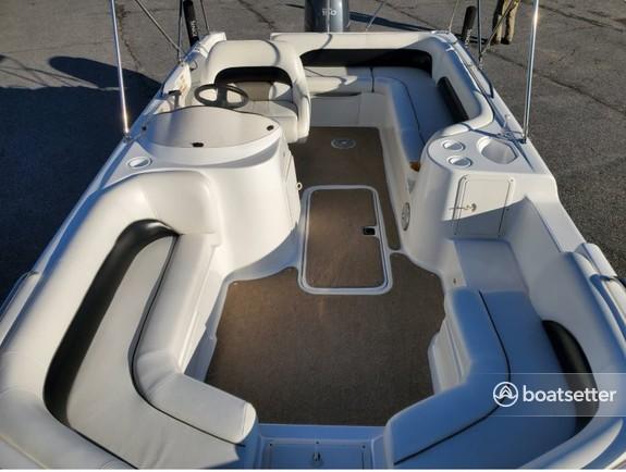 Rent a Hurricane deck boat in St. Petersburg, FL near me