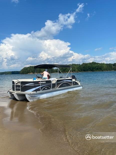 Rent a Hampton By Playcraft pontoon in Flowery Branch, GA near me