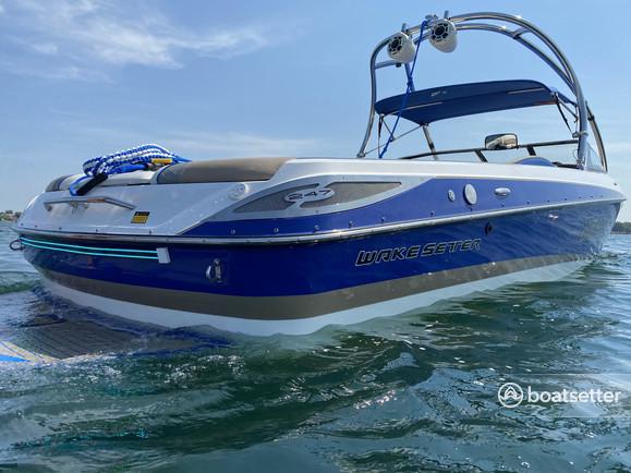 Rent a Malibu Boats ski and wakeboard in Rogers, MN near me