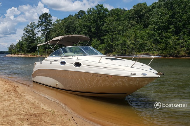 Rent a Sea Ray Boats express cruiser in Durham, NC near me