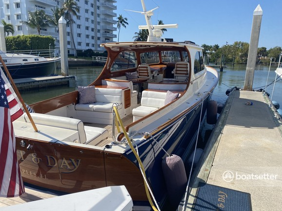 Rent a Hinckley Yachts cruiser in Naples, FL near me