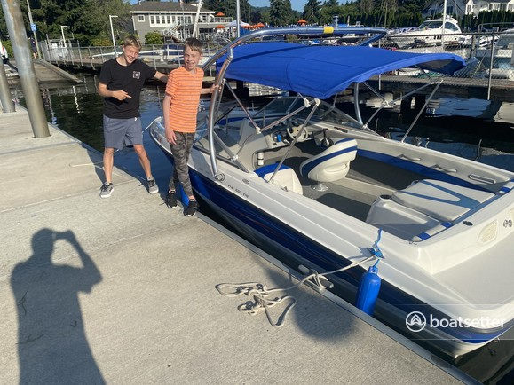 Rent a BAYLINER ski and wakeboard in Bellingham, WA near me