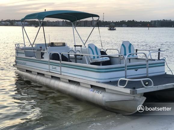 Rent a Monark Marine pontoon in Orange Beach, AL near me
