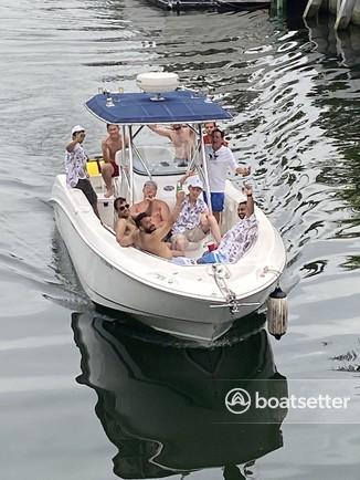 Rent a Boston Whaler center console in Miami, FL near me