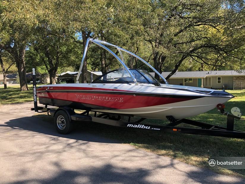 Rent a Malibu Boats ski and_wakeboard in Austin, TX near me
