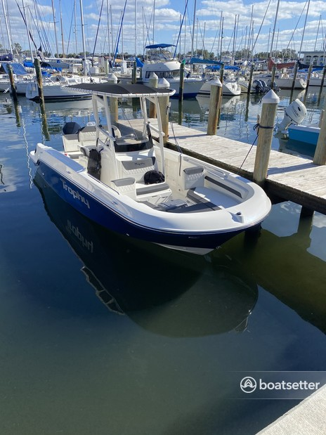 Rent a Bayliner center console in Ruskin, FL near me