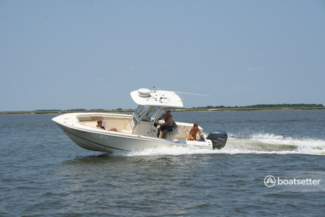 Rent a Scout Boats center console in Charleston, SC near me