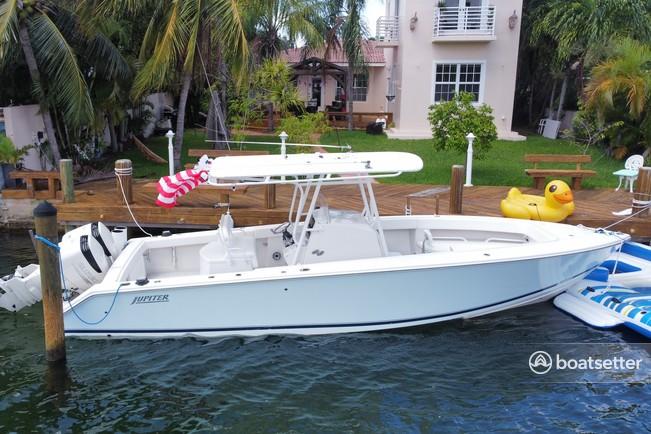 Rent a Jupiter Marine center console in Miami Beach, FL near me