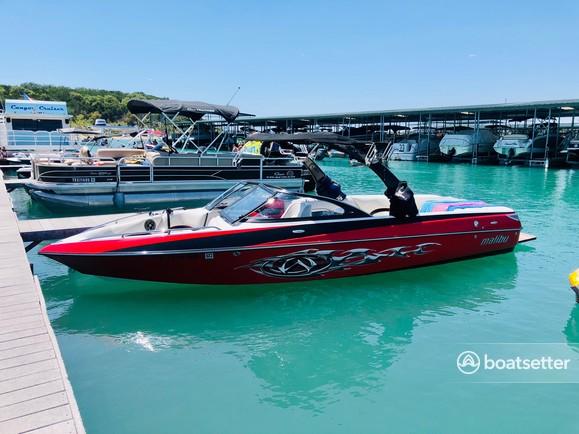 Rent a Malibu Boats ski and wakeboard in Canyon Lake, TX near me