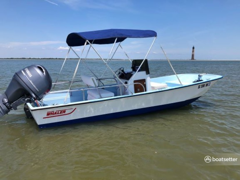 Rent a Boston Whaler classic in Folly Beach, SC near me