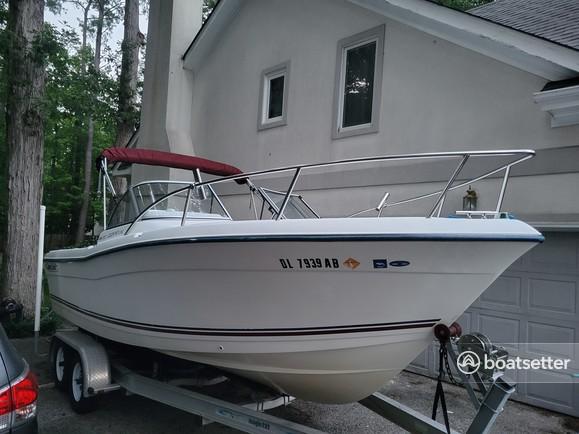 Rent a Cape Craft Fishing Boats dual console in Virginia Beach, VA near me