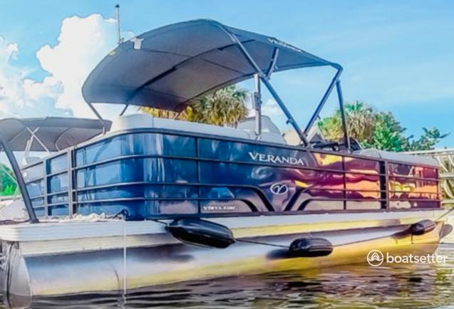 Rent a VERANDA pontoon in Dania Beach, FL near me