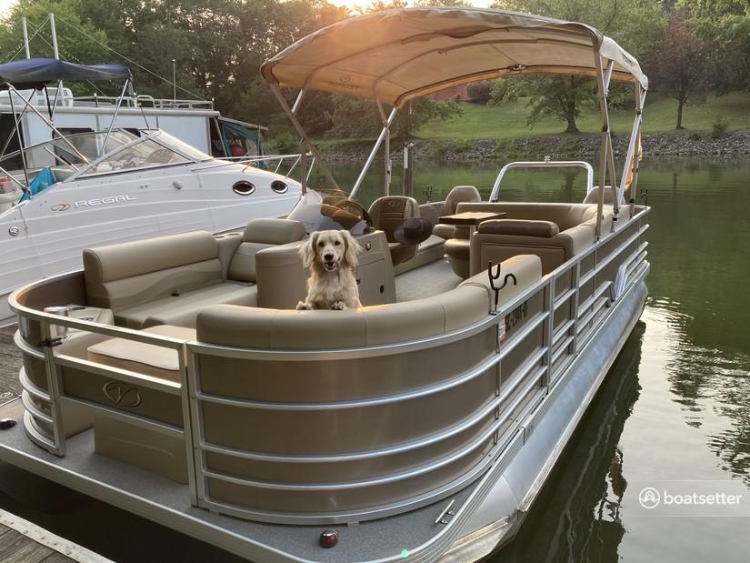 Rent a Veranda pontoon in Lake Wylie, SC near me