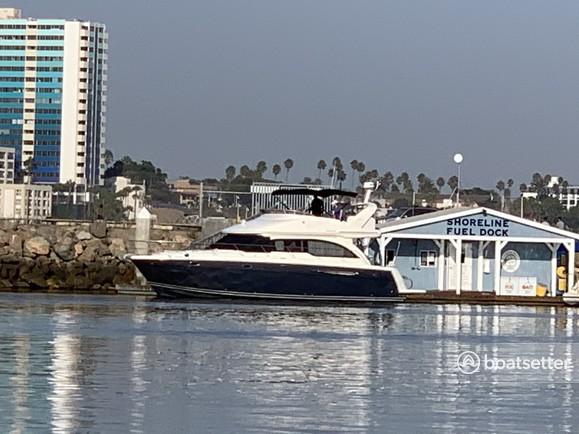 Rent a Meridian Yachts flybridge in Long Beach, CA near me