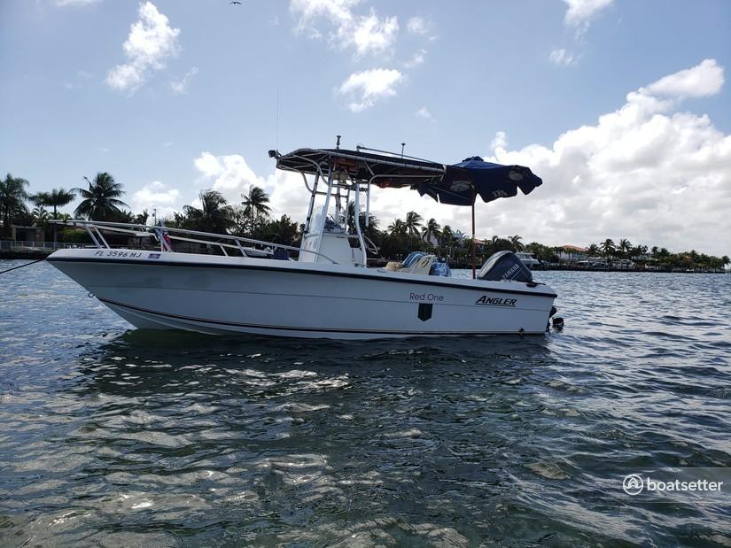 Rent a Angler Boats center console in Miami Beach, FL near me