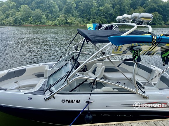 Rent a Yamaha jet boat in Raleigh, NC near me
