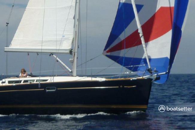 Rent a Jeanneau Sailboat cruiser racer in San Diego, CA near me