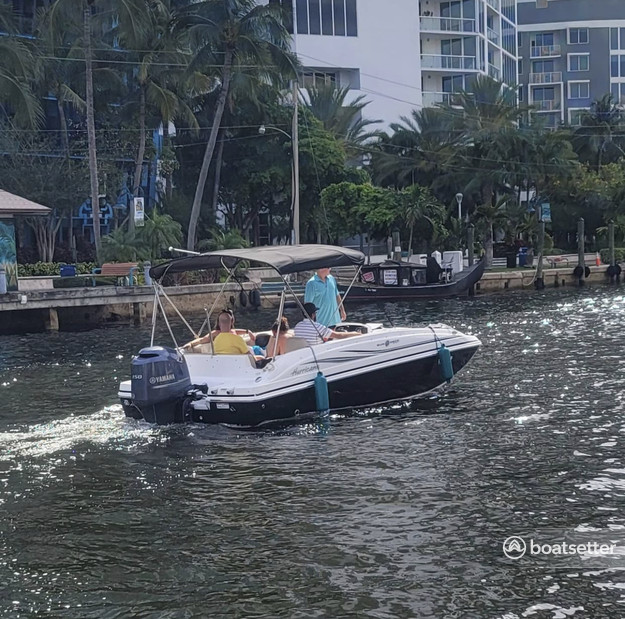 Rent a HURRICANE BOATS deck boat in Fort Lauderdale, FL near me