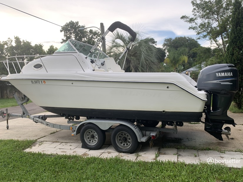 Rent a Sailfish Boats by Seminole classic in Jacksonville Beach, FL near me