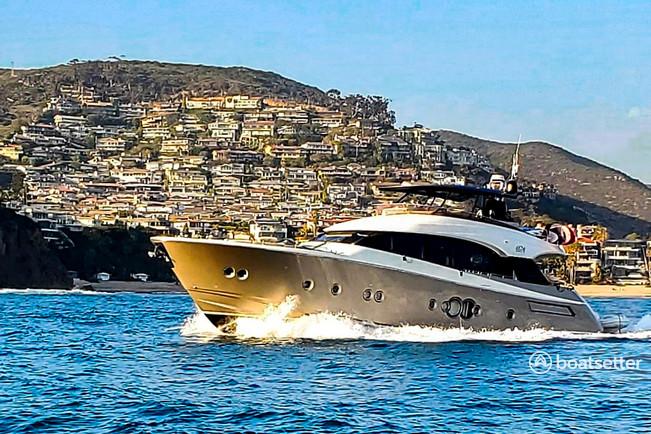 Rent a MCY motor yacht in Newport Beach, CA near me