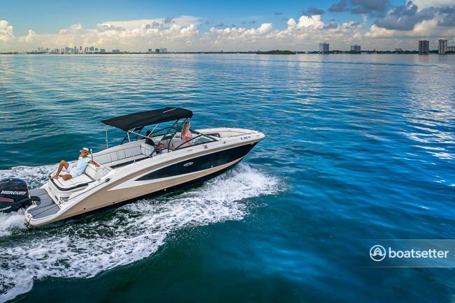 Rent a SEA RAY BOATS bow rider in Miami, FL near me