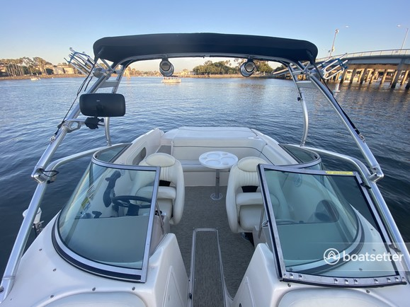Rent a Rinker Boats bow rider in Long Beach, CA near me