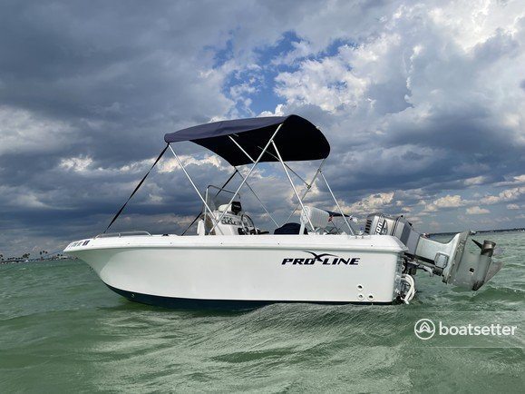Rent a Pro-Line Boats center console in Dunedin, FL near me