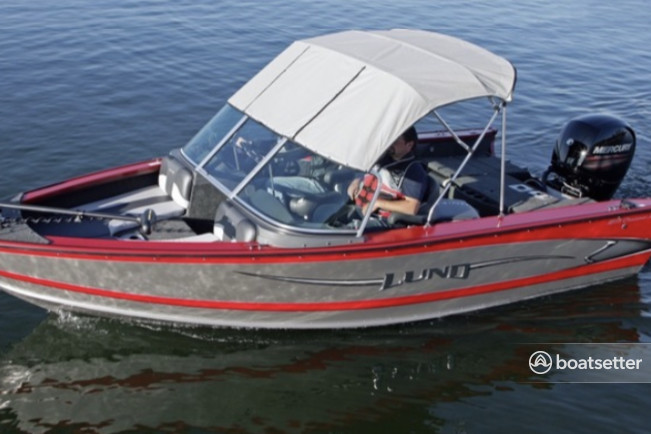 Rent a LUND BOATS aluminum fishing in White Bear Lake, MN near me