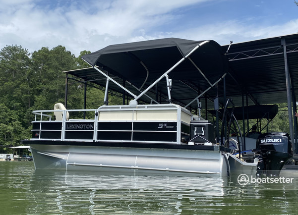 Rent a Lexington  pontoon in Dawsonville, GA near me