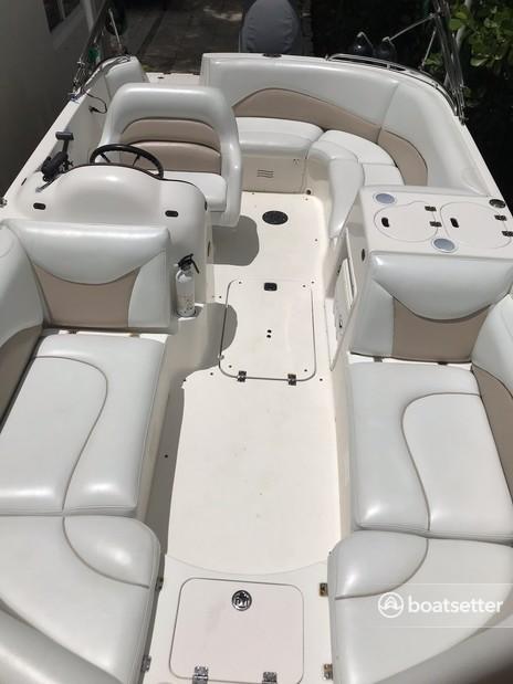 Rent a Hurricane Boats deck boat in Tampa, FL near me