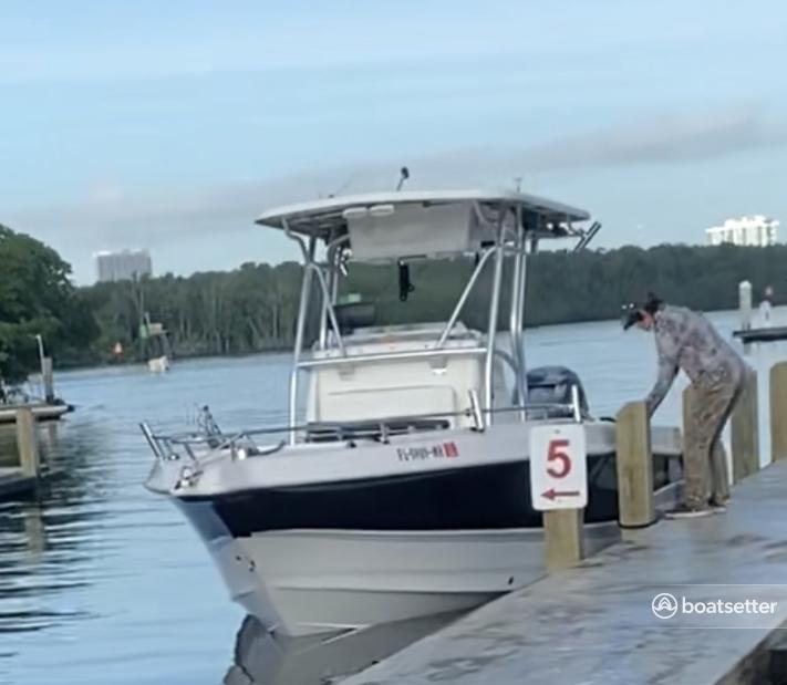 Rent a Pro-Line Boats center console in Miami Beach, FL near me