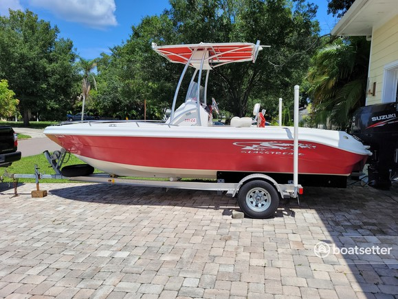 Rent a Glasstream Powerboats center console in St. Petersburg, FL near me