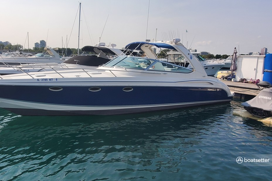 Rent a FORMULA BY THUNDERBIRD cruiser in Chicago, IL near me