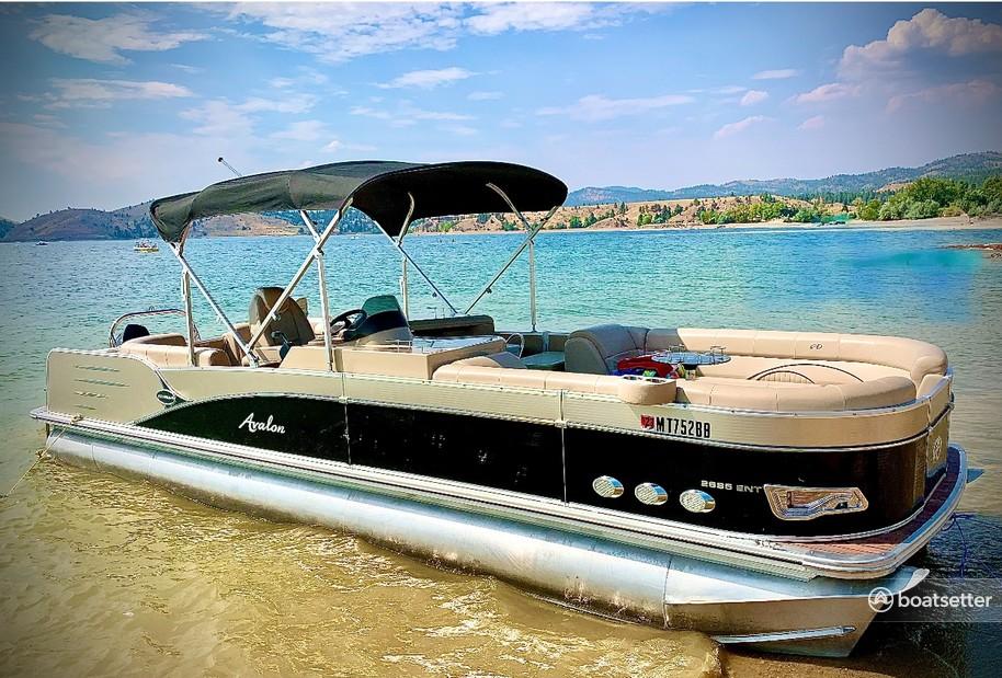 Rent a Avalon Pontoons pontoon in Helena, MT near me