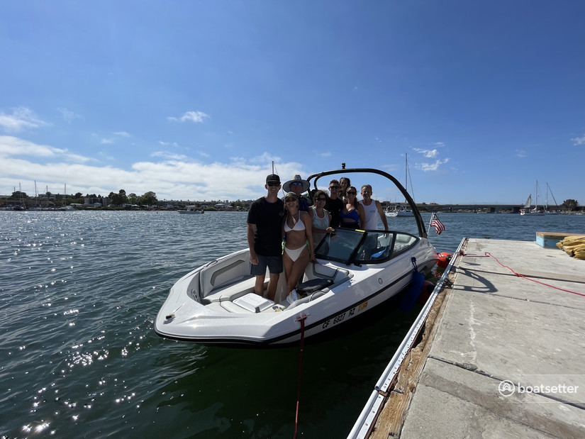 Rent a Yamaha bow rider in National City, CA near me