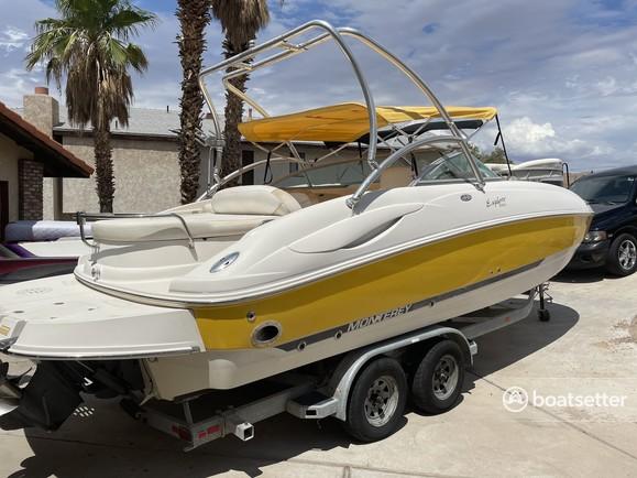 Rent a Monterey Boats deck boat in Bullhead City, AZ near me