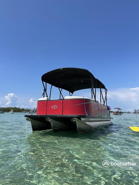 Rent a AVALON PONTOONS pontoon in Destin, FL near me